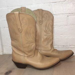 Beautiful Durango Leather Cowgirl Boots